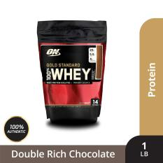 Thực phẩm bổ sung Optimum NutritionGold Standard 100% Whey Double Rich Chocolate1 lbs