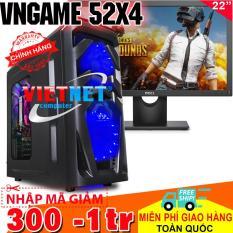 Máy tính VNgame 52X4 intel i5 2400 GTX 750Ti (2 Fan) Ram 8GB Hdd 500GB + Dell 22inch
