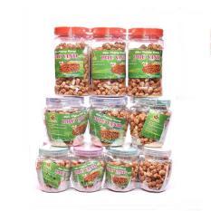 Combo 10 hủ Đậu Phộng Rang Phú Vinh – Vị tỏi ớt (Tặng kèm 2 hủ 75gr)