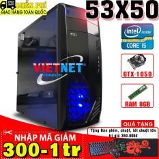 Máy tính chơi game VNgame 53X50 3470 GTX 1050 Ram 8GB Hdd 500GB (chuyên PUBG, GTA5, LOL, FIFA4, ROS)