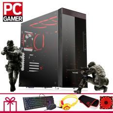 Thùng CPU chơi Game (Pentium G2030, Ram 4GB, HDD 1TB, VGA GTX750ti 2GB ) KH24GMBG31 + Quà Tặng