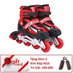 Giày Trượt Patin Phát Sáng Bánh Cao Cấp (Size M) – TiGi Mall – Tặng Kèm 2 Bóp Tay Mút