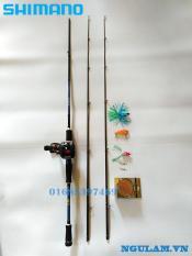 Bộ Cần Câu Lure Máy Ngang Shimano 1m8- 2m1- 2m4