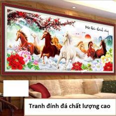 Tranh đính đá Mã đáo thành công YN2078-Ngọc Thịnh