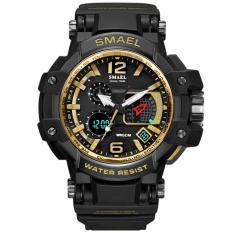 SMAEL Brand Watch 1509 Business Fashion Digital Watch Sports Dual Display Wristwatch Quartz Outdoor Electronic Clock Reloj Masculino – intl