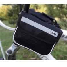 Túi treo sườn xe đạp đa năng chống nước cao cấp tặng đèn lé gắn van xe K 131