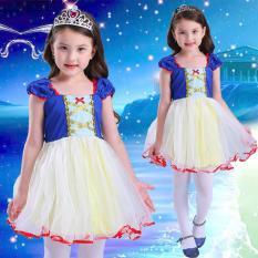 Váy đầm công chúa Bạch Tuyết tặng kèm vương miện M243