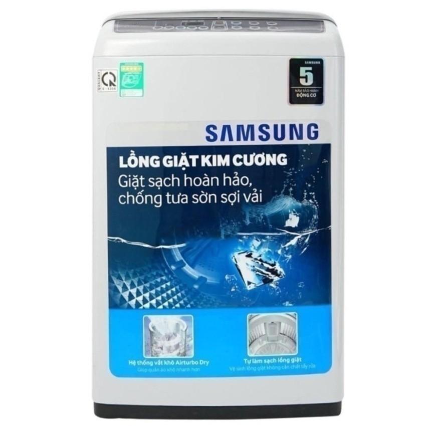 Máy giặt cửa trên Lồng giặt kim cương Samsung WA72H4000SG/SV (7.2kg)