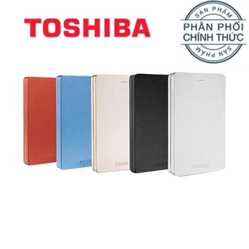 Ổ cứng di động 3.0 Toshiba Canvio Alumy 1TB - Hãng Phân Phối Chính Thức