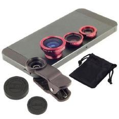 Lens chụp ảnh 3 trong 1 cho điện thoại (màu ngẫu nhiên )