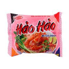 Thùng mì tôm chua cay Hảo Hảo 30 gói – 75gr