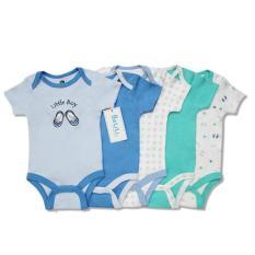 Set 5 body áo liền quần xuất dư xịn cho bé trai
