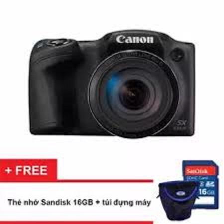 Mua Máy ảnh Canon PowerShot SX430 IS 20MP và Zoom quang 45x (Đen) – Hàng hãng phân phối (Tặng thẻ nhớ SD 16GB, túi đựng máy) ở đâu tốt?