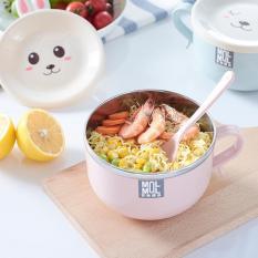 Bát ăn Mỳ chống nóng kiểu Hàn Quốc có nắp – Kami