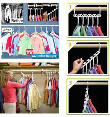 Bộ 8 móc treo quần áo thông minh
