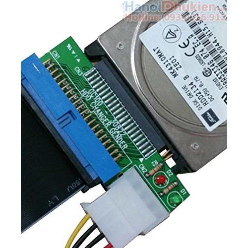 Giá Card chuyển đổi IDE 2.5-44pin sang IDE 3.5-40pin, ổ cứng ATA Laptop sang ổ cứng ATA máy bàn
