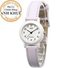 Đồng hồ nữ dây da Casio Anh Khuê LQ-139L-6BDF