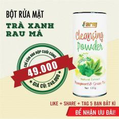 Bột rửa mặt Trà Xanh Rau Má nguyên chất 100%