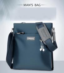 Túi đeo chéo cao cấp Tmoos vải oxford da trơn chống thấm nước