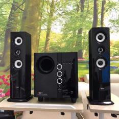 Dàn âm thanh tại nhà -HIFI hát karaoke âm thanh đỉnh cao có kết nối Bluetooth USB Isky – SK329 (Tặng kèm Micro hát karaoke)