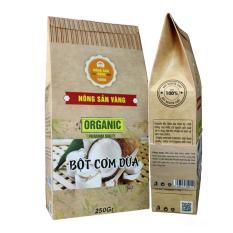 Bột Cơm Dừa sấy 250g – Nông Sản Vàng