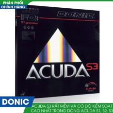 Mặt vợt bóng bàn DONIC ACUDA S3
