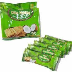 Combo 4 gói bánh dừa nướng Thái Bình Quảng Nam 180gr