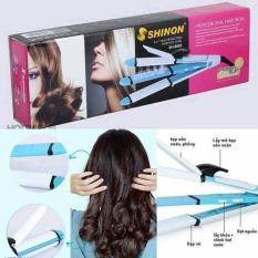 Máy tạo kiểu tóc đa năng uốn duỗi bấm 4 trong 1 Shinon 8005