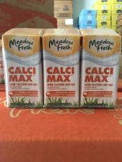 Sữa tươi Meadow Fresh max canxi hộp 200ml thùng 24 hộp