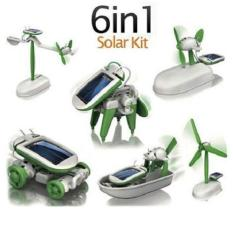 Bộ lắp ráp Robot năng lượng mặt trời 6 in 1 Robot Kits Solar