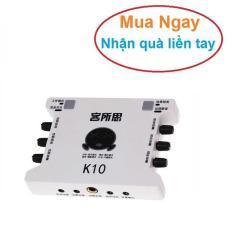 Card sound hát karaoke cắm ngoài USB – XOX K10