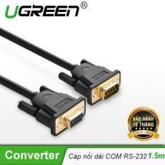 [Mới] Dây nối dài COM RS-232 đực sang cái 1.5m UGREEN DB101 20145