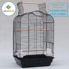 Lồng nuôi vẹt, chim 46x36x70cm