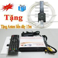 Đầu thu kỹ thuật số DVB T2 LTP 1306 tặng anten liền dây 15m