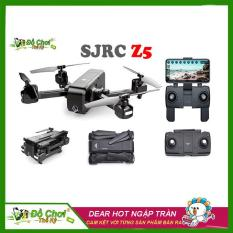 Flycam SJRC Z5 2GPS. Camera Full HD 1080P xoay 90 độ. Cánh gập nhỏ gọn. Khoảng cách bay 600m ( Bugs 5W, JJPRO X5 )