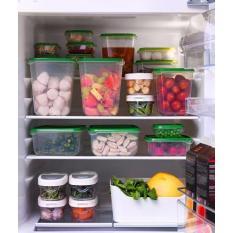Bộ nhựa 17 hộp đựng thức ăn (xanh)
