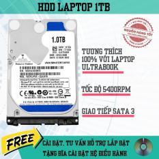 Ổ Cứng Dùng Cho Laptop HDD 1TB/5400rpm Chuẩn Sata 3.