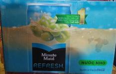 Nước nho Refresh Minute Maid 330ml x 24 lon