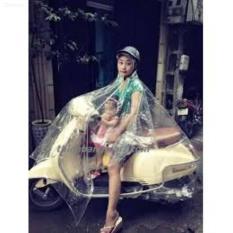 Giảm Giá áo mưa kiểu nữ trong suốt 1 đầu Xuất khẩu Nhật Bản thân thiện với môi trường