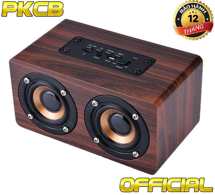 So sánh giá Loa gỗ bluetooth HIFI super bass stereo speaker âm thanh Nổi PKCB G4 gắn thẻ nhớ 3 trong 1 Tại Phụ kiện Cho bạn