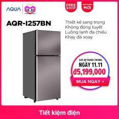 Tủ Lạnh AQUA Inverter AQR-I257BN 255L – Hàng phân phối chính hãng