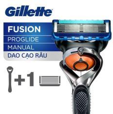 Dao Cạo Gillette Cao Cấp 5 lưỡi Fusion Proglide