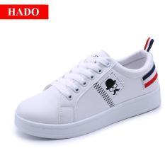 Giày Sneaker Thời Trang Nữ – Doha shop SN005TD Trắng Phối Đỏ
