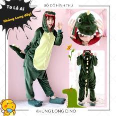 Bộ Đồ Hình Thú Khủng Long Dino Size Cho Người Lớn
