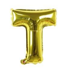 Bóng chữ cái A-Z màu vàng trang trí sinh nhật