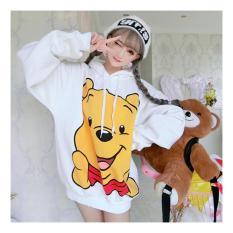 Áo Hoodie Nữ Gấu Pooh Đáng Yêu Glamour WM TOP 800087