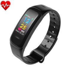 Vòng đeo tay thông minh Wearfit C1 Plus màn hình màu cảm ứng