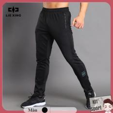 Quần dài thể thao nam N204 – Cửa hàng phân phối KIT Sport – Hiệu LieXing(Men Pants,đồ tập quần áo gym,mẫu Jogger rộng, thể dục,thể hình, Fitness)