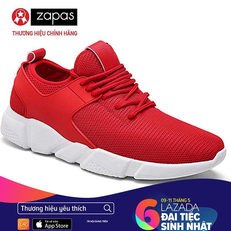 Giày Sneaker Nam Thời Trang Zapas – GS080 (Xám ) [ Có Quay Video Quay Thật]