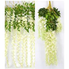 Combo 10 dây Hoa Fuji, hoa tử đằng siêu đẹp-Hoa giả-Hoa lụa-Dây hoa-Hoa giả cao cấp-Hoa trang trí